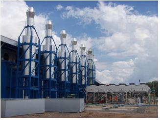 M/E Installation Gas Engine Generator