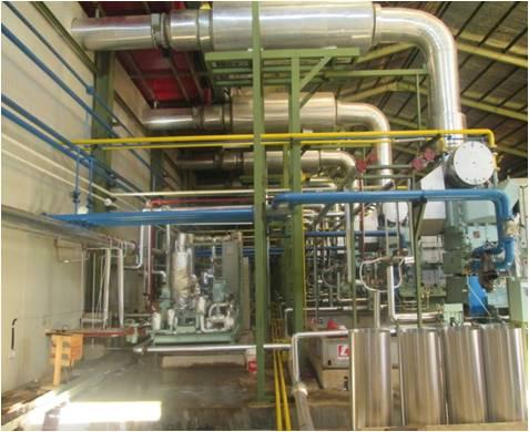 M/E Installation MFO Diesel Genset